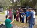 39 カランビン野生動物病院実習