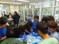 80 カランビン野生動物病院実習