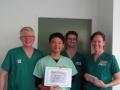 99 カランビン野生動物病院実習